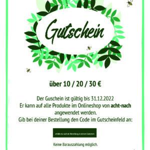 Blanko - Gutschein